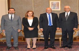 نائب وزير الخارجية للشئون الإفريقية يستقبل أمين مساعد الجامعة العربية لمتابعة انتخابات الشيوخ