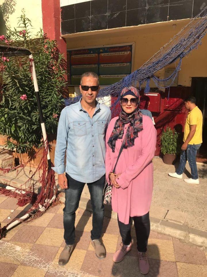 مدرب حراس مرمى «الأوليمبي» وزوجته