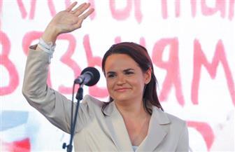 زعيمة المعارضة في روسيا البيضاء تصل إلى ليتوانيا