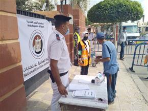 إقبال محدود للناخبين على التصويت داخل اللجان الانتخابية فى بور سعيد| صور