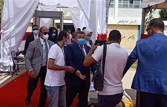 وزير الإعلام يدلي بصوته في انتخابات مجلس الشيوخ بمدرسة سيزا النبراوي بالتجمع الخامس|صور
