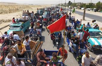 توافد كبير على التصويت بلجان منطقة الزرايب بمدينة 15 مايو   صور
