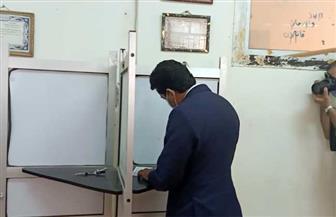 وزير الرياضة يدلي بصوته في انتخابات مجلس الشيوخ بالشروق | صور