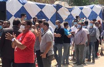 إقبال على عملية التصويت داخل لجنة مدرسة ناصر الثانوية بنات بالساحل