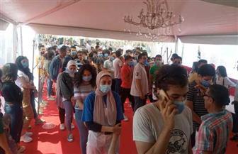 الشباب يتوافد علي لجان طبري الحجاز| صور