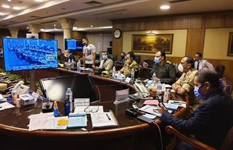 محافظ الغربية يترأس غرفة العمليات المركزية بالمحافظة لمتابعة انتخابات مجلس الشيوخ | صور