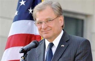 """السفير الأمريكي فى ليبيا لبوابة الأهرام الإنجليزية: """"إعلان القاهرة"""" قاعدة جيدة للانخراط فى عملية السلام  صور"""