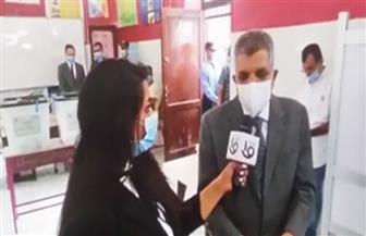 رئيس هيئة قناة السويس يدلي بصوته في انتخابات الشيوخ بلجنة فاطمة الزهراء|صور