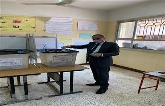 سلامة خلال الإدلاء بصوته في الانتخابات: المصريون قادرون على إبهار العالم وتأكيد قوة مصر قيادة وشعبا|صور