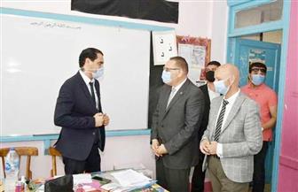 محافظ الشرقية يتفقد لجنة انتخابات مدرسة الناصرية الابتدائية النموذجية بالزقازيق|صور