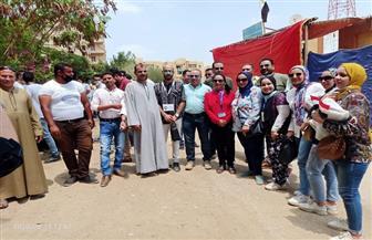 إقبال الناخبين على لجان حدائق الأهرام للمشاركة في انتخابات مجلس الشيوخ   صور وفيديو