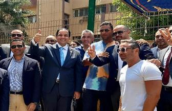 حازم إمام و«ميدو» وسيف زاهر يشاركون في انتخابات مجلس الشيوخ | صور
