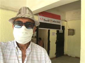 محمد سلماوي يدلي بصوته في انتخابات مجلس الشيوخ