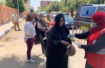 إقبال ملحوظ من السيدات على لجان انتخابات الشيوخ بالأقصر | صور