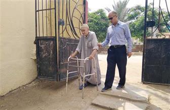 مسن بالشرقية: نزلت أشارك في انتخابات الشيوخ لاستكمال بناء مصر | صور