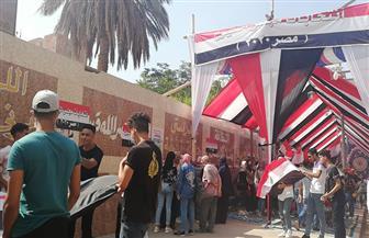 توافد شبابي على لجان الانتخابات في مصر الجديدة| صور