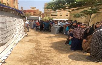 """إقبال كبير من الناخبين على لجان فيصل بانتخابات """"الشيوخ """"  صور"""