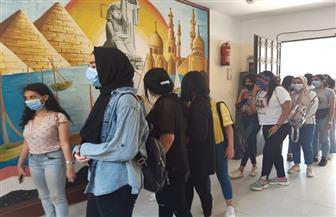 الفتيات تسجل حضورا كبيرا في انتخابات الشيوخ بمصر الجديدة  صور