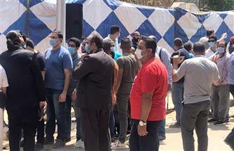 إقبال ملحوظ في صفوف الناخبين بمدرسة العقاد في المطرية  صور
