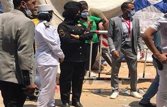 الشرطة النسائية تشارك في تأمين انتخابات مجلس الشيوخ | صور