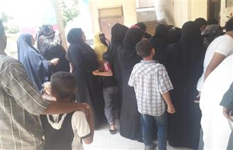 إقبال كثيف من الناخبين على اللجان الانتخابية بالبدرشين | صور وفيديو