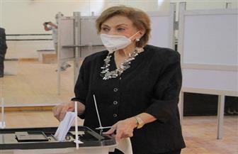 ميرفت التلاوي تدلي بصوتها في انتخابات «الشيوخ» بلجنة التربية الرياضية بالزمالك | صور