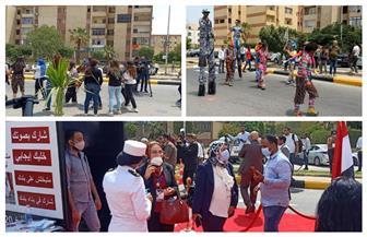 رقصات فنية واستعراضية أمام لجان مدرسة  سيزا النبراوي بالتجمع الخامس بانتخابات مجلس الشيوخ