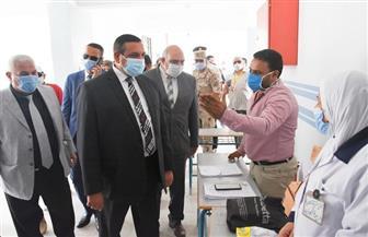 محافظ البحيرة يتفقد سير الانتخابات.. ويناشد المواطنين للإدلاء بأصواتهم |صور