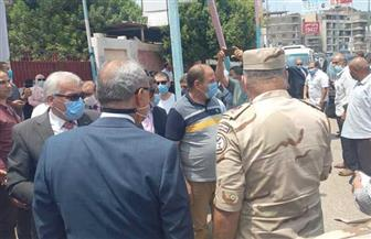 محافظ القليوبية ومدير الأمن يتفقدان اللجان الانتخابية | صور