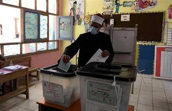 قيادات الأزهر يدلون بأصواتهم في الساعات الأولى من انتخابات مجلس الشيوخ |صور