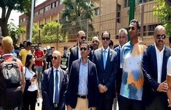 النائب علاء عابد يتفقد اللجان الانتخابية بالجيزة.. ويلتقط الصور التذكارية مع مرشحي الحزب أمام المقرات | صور