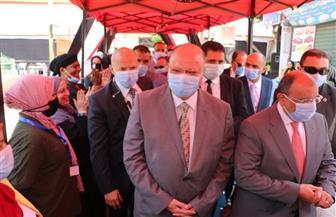 وزير التنمية المحلية ومحافظ القاهرة يتفقدان العملية الانتخابية فى شبرا وعابدين | صور