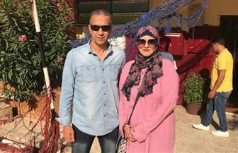 مدرب حراس مرمى «الأوليمبي» وزوجته يدليان بصوتيهما في انتخابات مجلس الشيوخ   صور