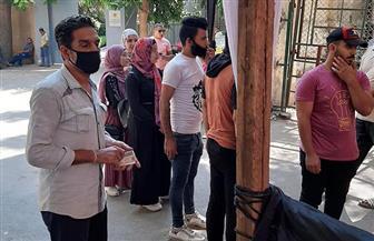 المواطنون يواصلون التصويت فى انتخابات مجلس الشيوخ بعد انتهاء الاستراحة | صور