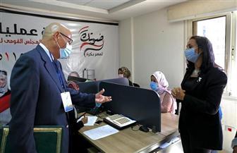 بعثة جامعة الدول العربية: العملية الانتخابية تتم بانضباط وهدوء.. ونلمس إحساسا كبيرا بالمسئولية | صور