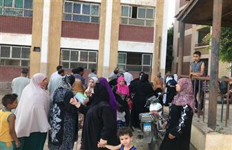 بدء عملية التصويت بمصر القديمة | صور