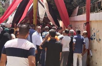 إقبال كبير من الناخبين بعين شمس للتصويت في انتخابات مجلس الشيوخ | صور