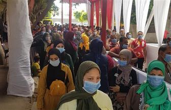 زيادة الإقبال على التصويت بشبرا في ثاني أيام انتخابات مجلس الشيوخ | صور