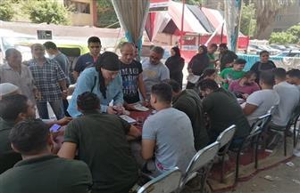 إقبال ملحوظ بلجنة شباب منشية التحرير في انتخابات مجلس الشيوخ   صور