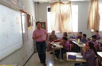 مدرسة صينية بمحافظة المنوفية في مصر تحظى بشعبية كبيرة لدى السكان المحليين