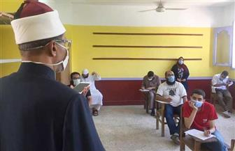 وكيل الأزهر يتفقد امتحانات نقل وشهادات القراءات بمعهد فتيات شبرا |صور