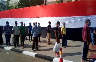 استمرار توافد المواطنين للمشاركة في انتخابات مجلس الشيوخ بمدرسة السلام بالزاوية  صور