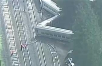 انحراف قطار عن مساره في أسكتلندا يخلف عددا كبيرا من الجرحي