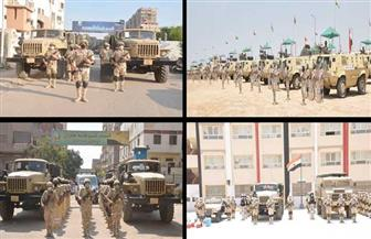 القوات المسلحة تواصل تنفيذ أعمال تأمين انتخابات مجلس الشيوخ 2020| فيديو