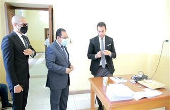 رئيس الجهاز المركزي للتنظيم والإدارة يدلي بصوته في انتخابات الشيوخ  صور