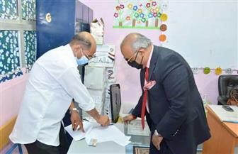 إبراهيم عشماوي يدلي بصوته بانتخابات مجلس الشيوخ.. ويؤكد: «المشاركة واجب وطني» | صور
