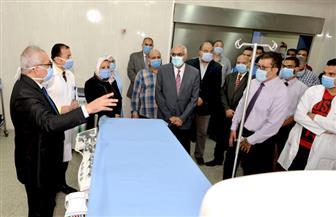 بتكلفة 34 مليونا.. تطوير وحدات طبية بمركز جراحة الجهاز الهضمي بالمنصورة   صور