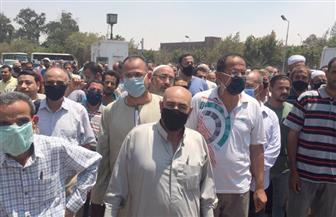 زحام أمام لجان مدرسة الجبرتي بمنشأة ناصر قبل إغلاق باب التصويت| فيديو