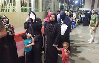 إقبال كثيف من الناخبين بحي الأسمرات في انتخابات مجلس الشيوخ | صور وفيديو
