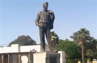 وضع تمثال صالح سليم باستاد «الأهلي السلام» وتخصيص مدرج ثابت باسمه